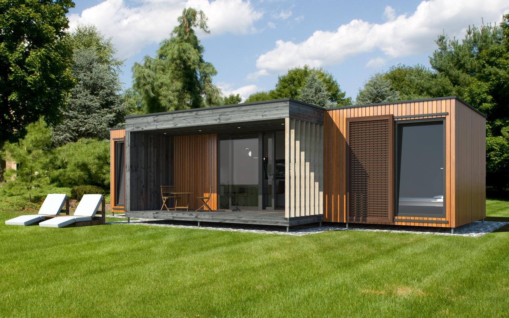 Pavilion ek 017 ekokoncept for Architecte maison container