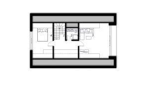 Nadstropje Montažna hiša ek 033