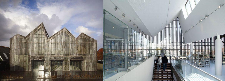 Kaap Skil pomorski muzej, otok Texel, Nizozemska /Mecanoo Arhitekti