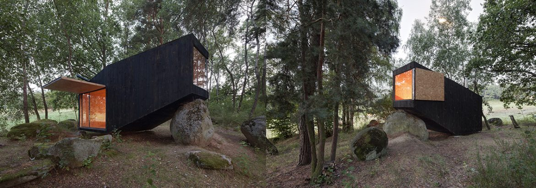 Gozdni domek, Češka, Uhlík arhitekti