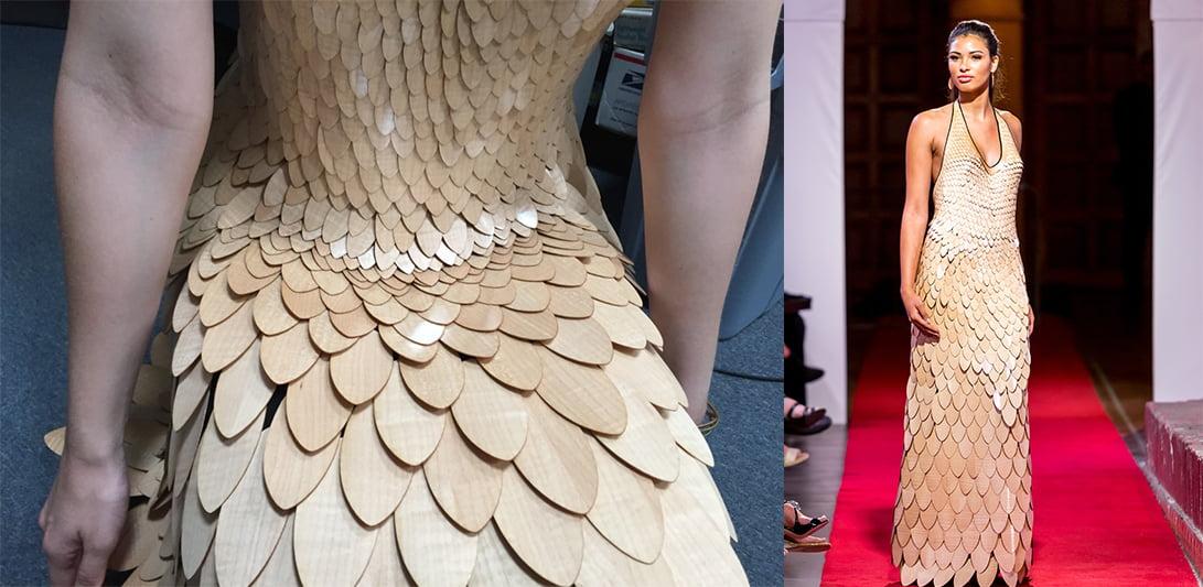 Javorjeva obleka?, oblikovalec Paul Schürch