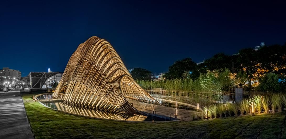 Bamboo pavilion – Taiwan