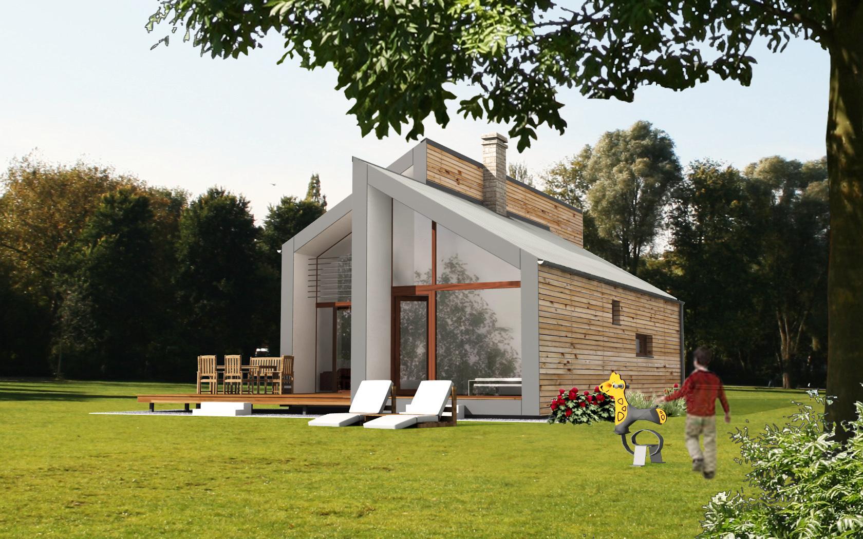 Prefabricated house ek 023